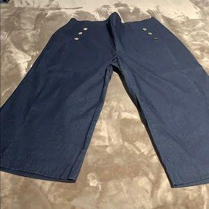 INC Women's Wide Legged Dressy Jeans